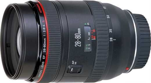 Lente L profissional Canon EF28-80mm f/2.8-4L USM