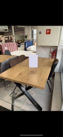 Stół w stylu loft Seba 160x90 PROMOCJA