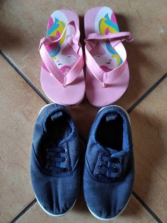 Paka bucików dla dziewczynki rozmiar od 22 do 25