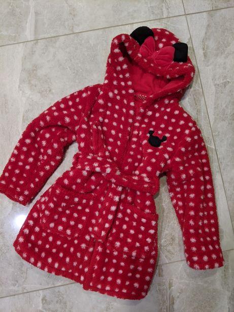 Халат для девочки минни Маус minni mouse Disney халатик пижама