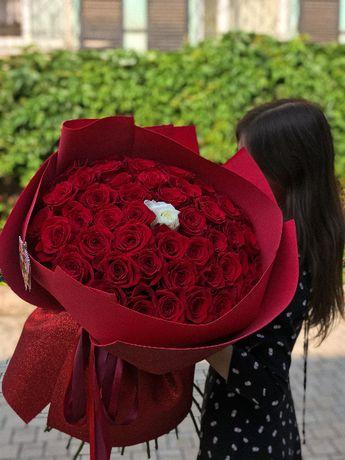 Доставка цветов: букеты, розы, композиции