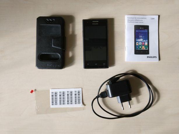 Моб. телефон Philips S 309 в ИДЕАЛЬНОМ состоянии от первого хозяина