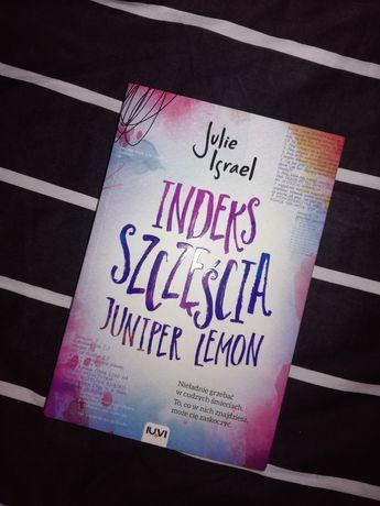 """Książka """"Indeks szczęścia Juniper Lemon"""""""