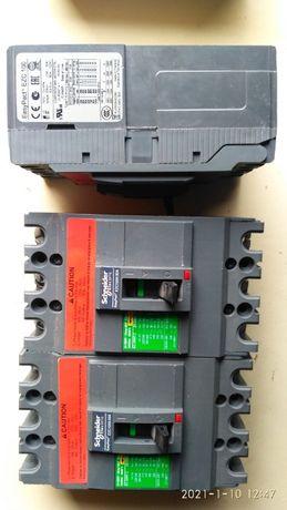 Автоматические выключатели Easypact EZC100H - TMD - 40 /80 A - 3ТТ