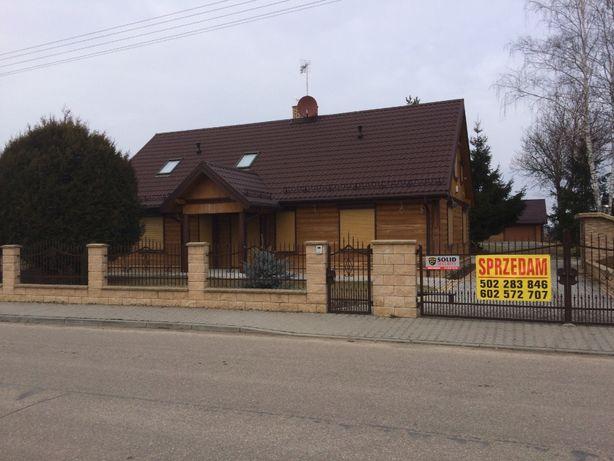 Dom z bala 252 m2 w miejscowości Gnojno. Trasa Pułtusk-Ostrołęka!