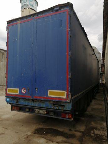 Reisch RHKS Cargo Floor 2007 Зерновоз щеповоз