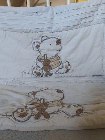 Защита бампер на кроватку