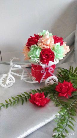 Dekoracje,rowerki ozdobne, dzień babci,mamy, nauczyciela