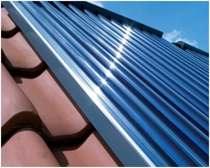 Painel Solar Heat Pipe com 30 Tubos de vácuo de última geração