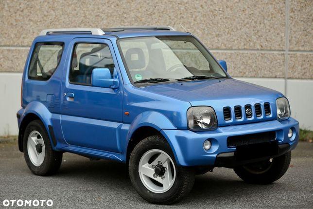 Suzuki Jimny 1.3 ben 82PS 4X4 KLIMA reduktor bezwypadek serwis IGŁA z DE