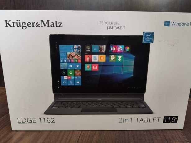 LAPTOP TABLET 2W1 Kruger&Matz EDGE 1162 11,6 FHD N3350 4GB Win10 Gwar