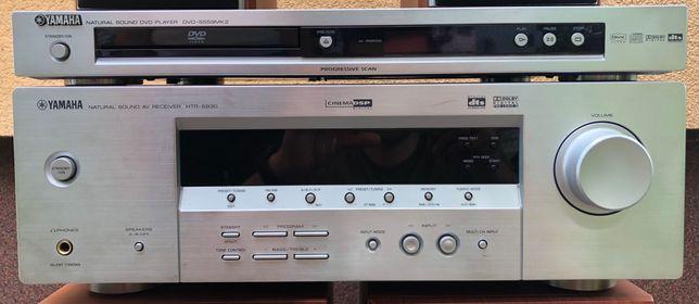 Yamaha amplituner htr-5930 oraz DVD-s559mk2