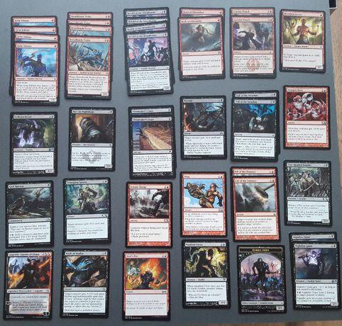 MTG Red Zombies B/R NM DECK talia 60 kart [Qb]