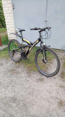 Горный велосипед двухподвес