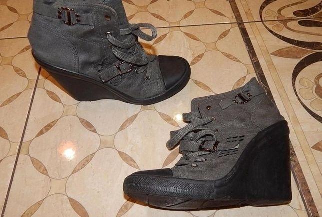 Модні батальйони ,черевики на платформі ,39 розмір