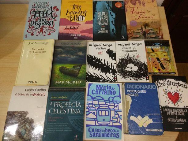Livros para troca: Balzac, Flaubert, Stendhal, Allende, Esteiros, etc