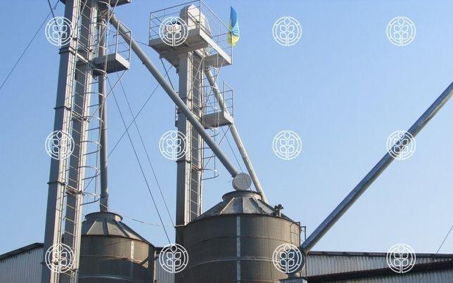 Норія зернова, ковшова, ленточна, стрічкова, элеватор транспортер
