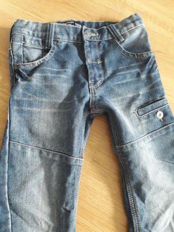 Reserved śliczne modne spodnie roz.110 super stan!