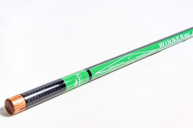 Удилище маховое карбоновое Winner 6м без колец качество New Hunter