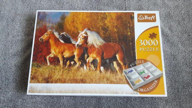Puzzle Trefl 3000 konie