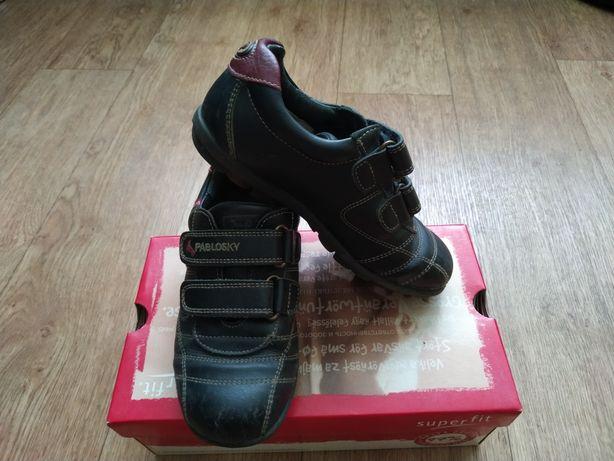 Туфли кожаные на мальчика р.32