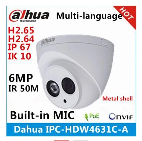 IP видеокамера Dahua IPC-HDW4631C-A 6Мп для наружного видеонаблюдения