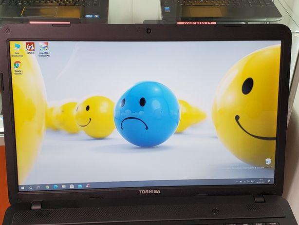 """Ноутбук TOSHIBA с большим экраном 17.3"""". В идеале. SIGMA (1401)"""