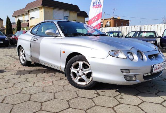 Hyundai Coupe 1.6b +lpg // 2000r, skóra, elektryka //