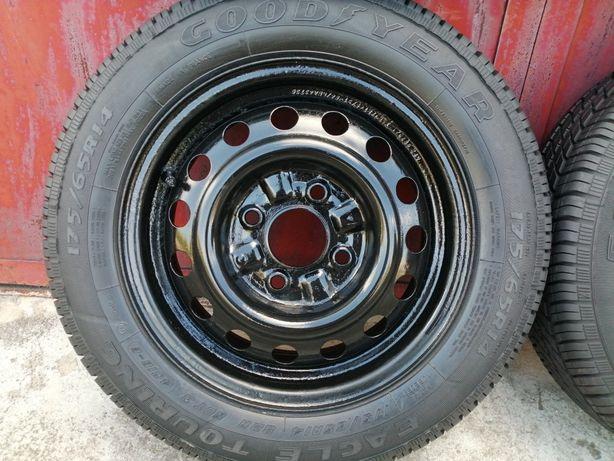 Диски металеві з шинами R14 4x112 ET46 KFZ 175/65/R14 4шт ціна за 1шт