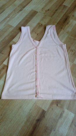Brzoskwiniowa bluzka top roz 38