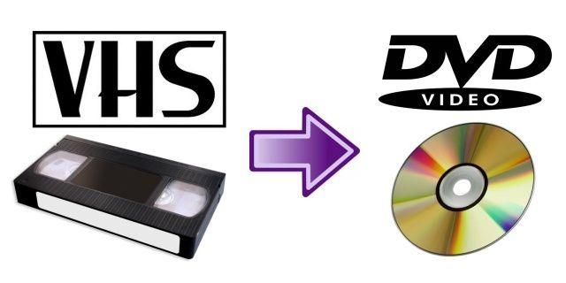 Przegrywanie kopiowanie kaset VHS na pendriva lub DVD montaż filmów