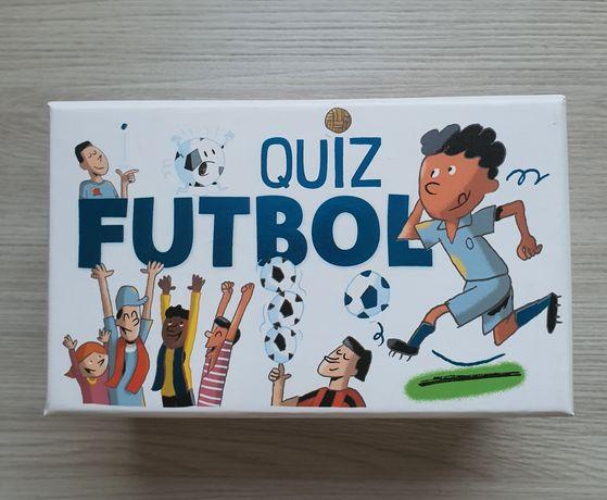 Gra karty Quiz Futbol