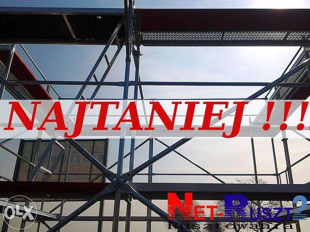 Rusztowanie Plettac 306 m2 podest 3 m. wysokosć robocza 8,4 m