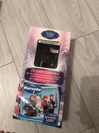 Mikrofon karaoke Disney Elsa