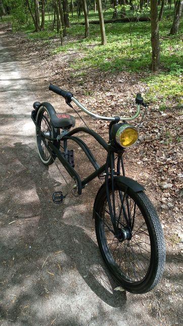 Chopper custom bike.