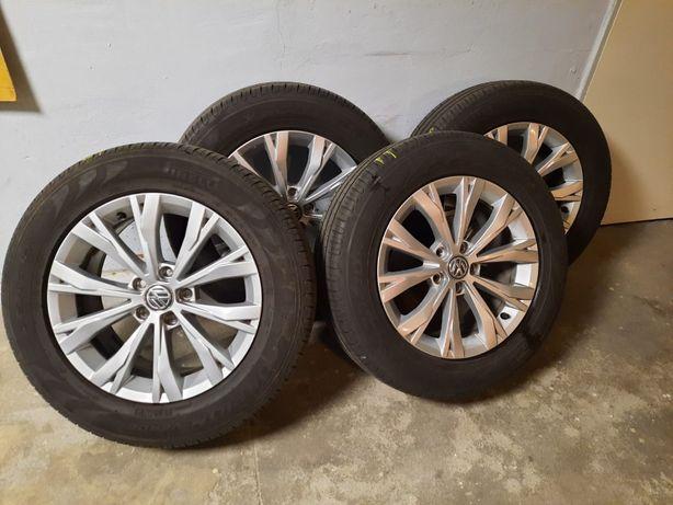 """Komplet koła aluminiowe 17"""" 5x112 Vw Tiguan AD1 Pirelli 215/65/R17"""