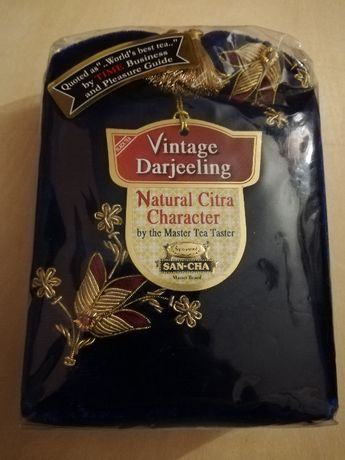 Tradycyjna Herbata z Indii -Vintige Darjeeling Tea