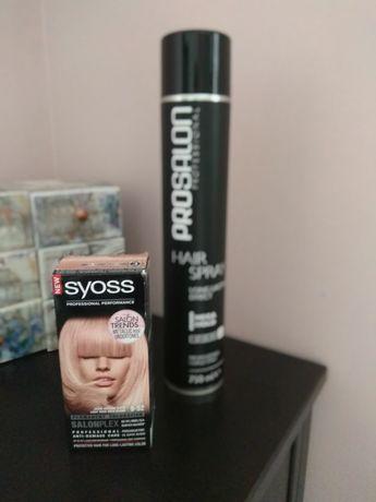 Farba do włosów SYOSS 9-52 jasne różowe złoto, lakier do włosów
