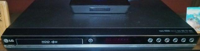 Супер-мультиформатный DVD/HDD рекордер с жестким диском 160 Гб LG HDR8