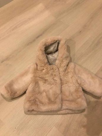Kożuszek-kurtka dla dziewczynki