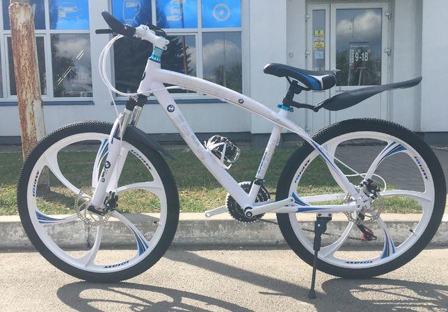 """Новый горный велосипед на литых дисках 26"""""""
