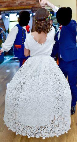 Sprzedam suknię ślubną Rachel Boso