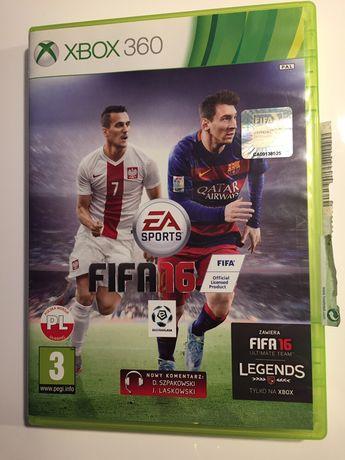 FIFA 16 PL Xbox 360