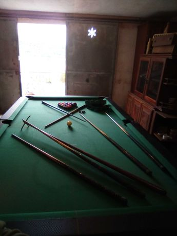 Mesa de snooker Com tampos