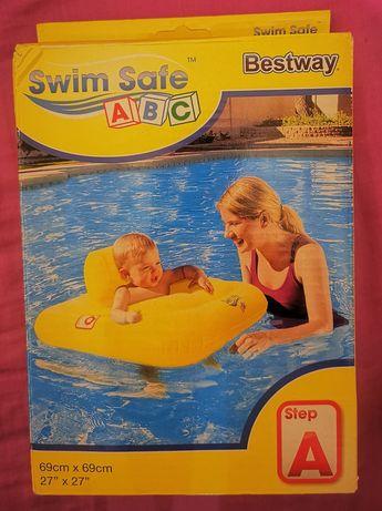 Bestway Kółko Swim Safe A Baby Żółty