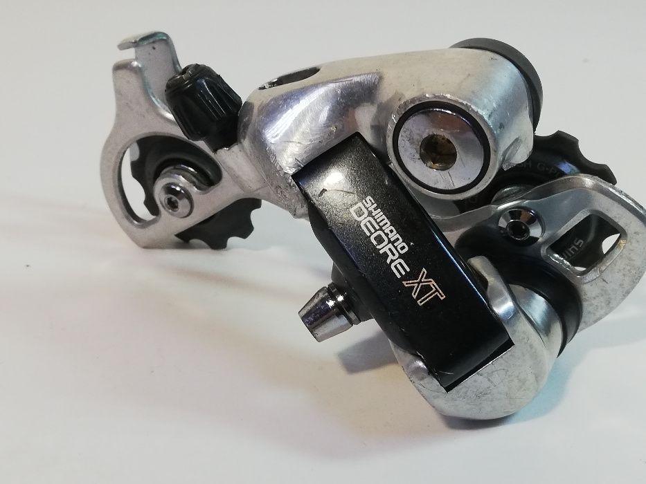 Przerzutka tył Shimano Deore XT RD-M735 7rz Retro Mtb Końskie - image 1