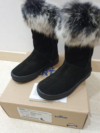 Nowe! Botki Bartek buty zimowe kozaki