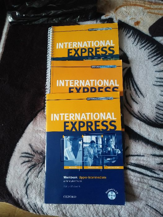Książki do języka angielskiego International Express Upper-Intermedite Bielsko-Biała - image 1