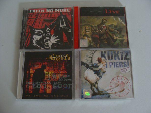 Kolekcja Płyt CD rock/metal