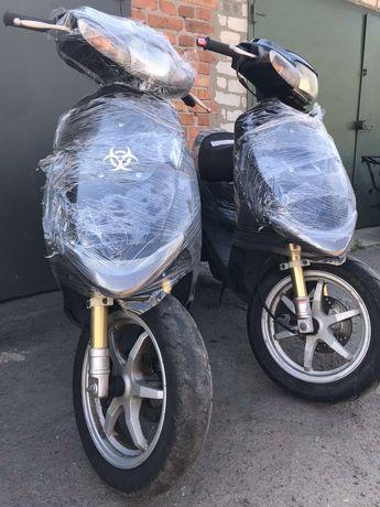 Suzuki ZZ inch up Sport,Японский скутер без пробега по Украине.